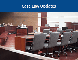 Case Law Updates